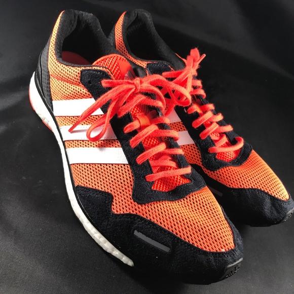 Adidas otros Mint adios Boost naranja negro 125 hombre  poshmark